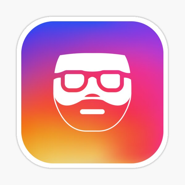 InstaGraham app logo Sticker