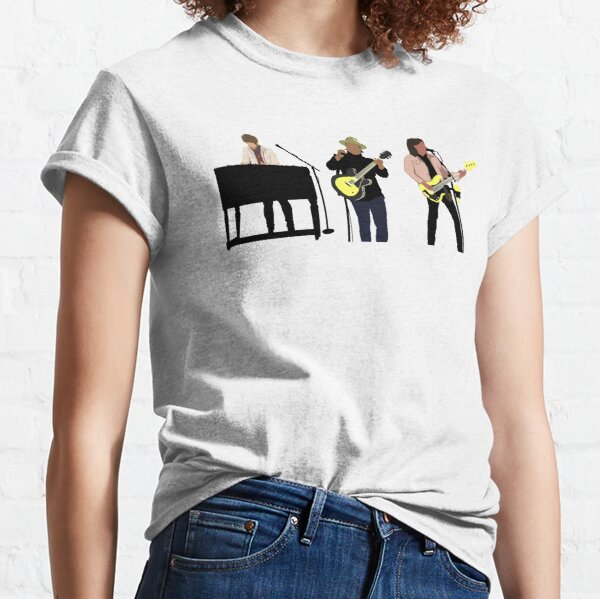 Rock Band Illustration Needtobreathe Musical Artists Performing Classic T-Shirt
