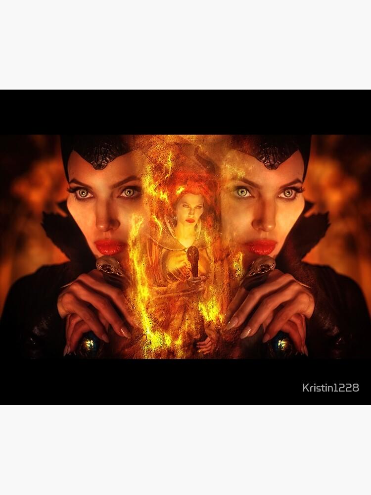 Maleficent Villain Design by Kristin1228