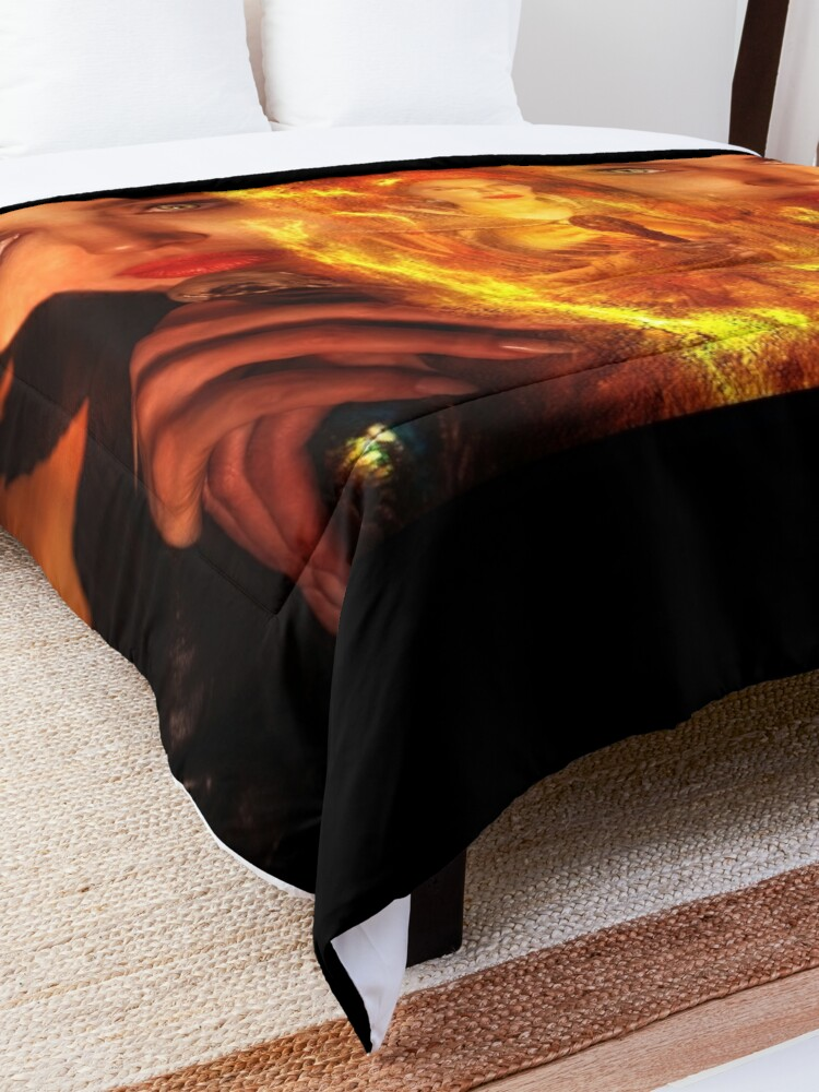 Alternate view of Maleficent Villain Design Comforter