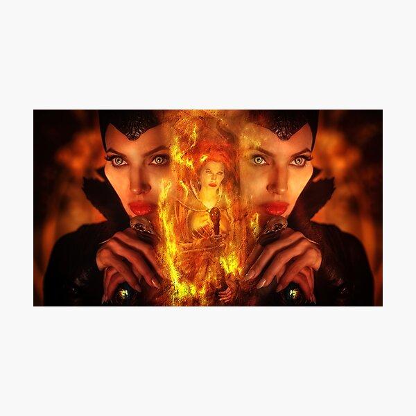 Maleficent Villain Design Photographic Print