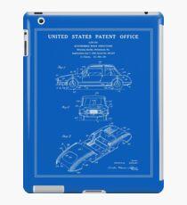 Automobile Body Patent - Blueprint iPad Case/Skin