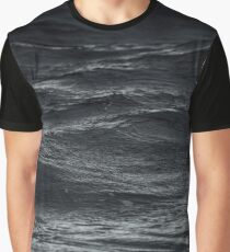 Dark Soothing Water Graphic T-Shirt