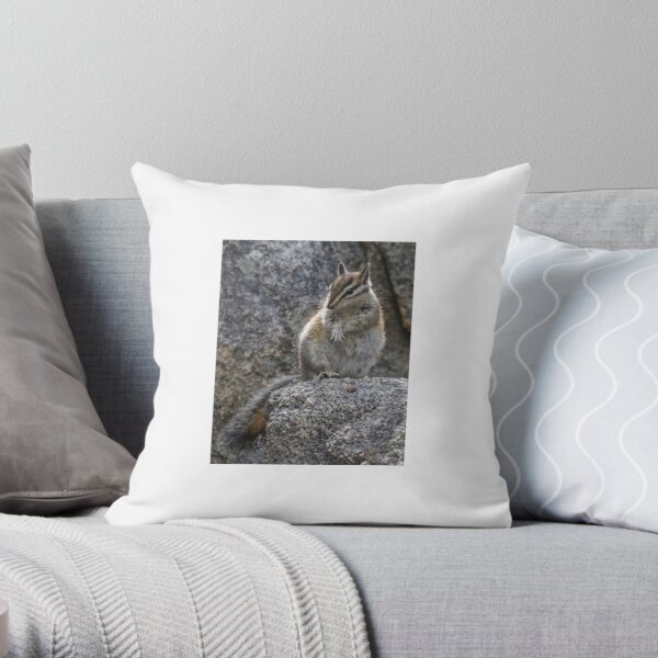 Would you put a ring on this paw? Throw Pillow