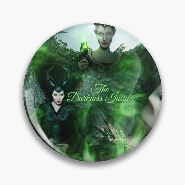 Maleficent The Darkness Inside Pin