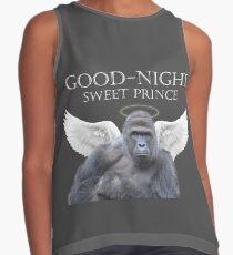 Gute Nacht, Süßer Harambe Kontrast Top