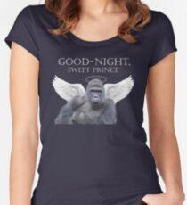 Good-Night, Sweet Harambe Women's Fitted Scoop T-Shirt