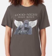 Good-Night, Sweet Harambe Slim Fit T-Shirt