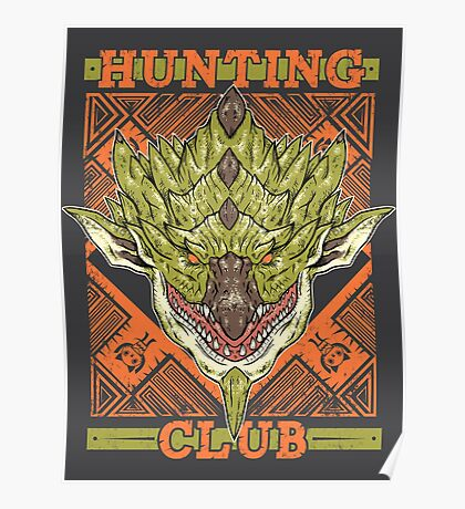 Hunting Club: Rathian Poster