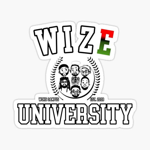 WIZE U (WOKE CAMPUS) Sticker