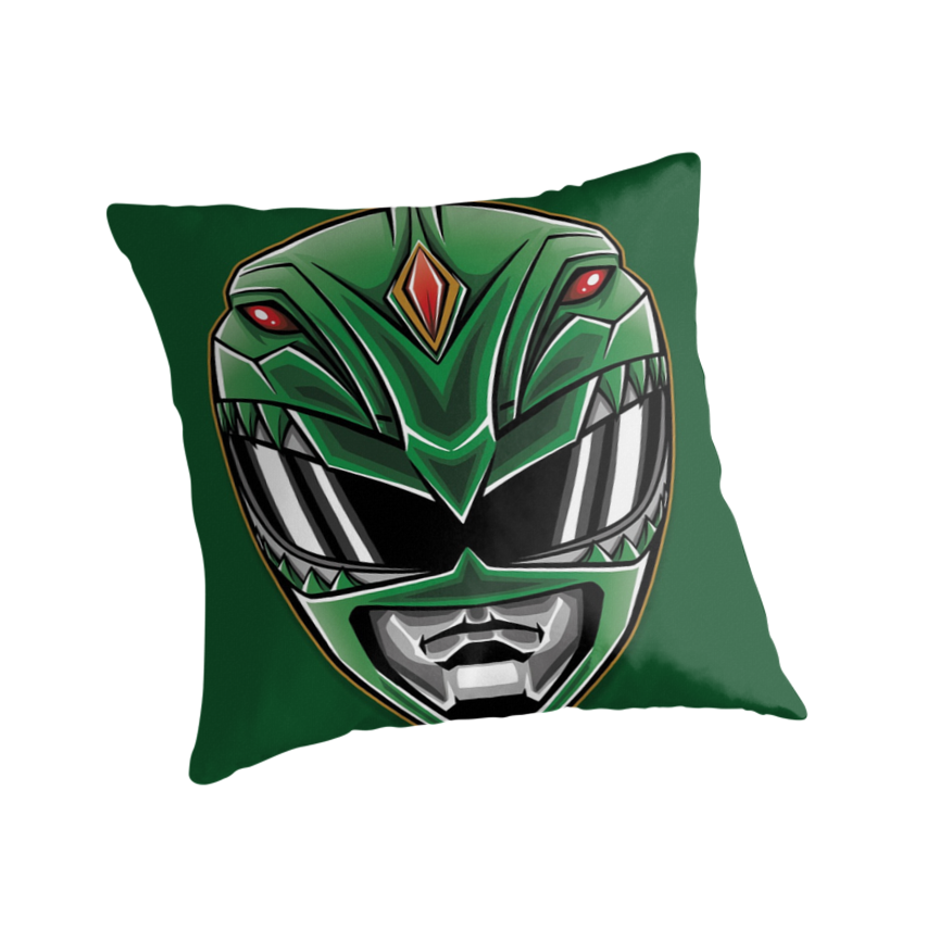 Dragonzord Power - Pillow and Tote by TrulyEpic