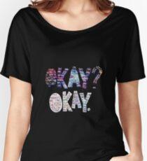 Okay Okay Nebula  Women's Relaxed Fit T-Shirt