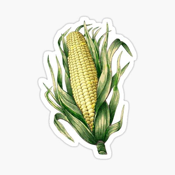 A Corn Sticker