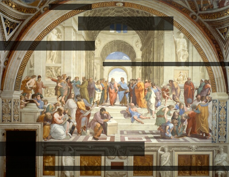 school of athens essay The school of athens by raphael is a complex painting with a fascinating composition the subjects, building, composition and his use of color make it a compelling piece this painting is extremely decorative and complex with various tools, raphael wa.