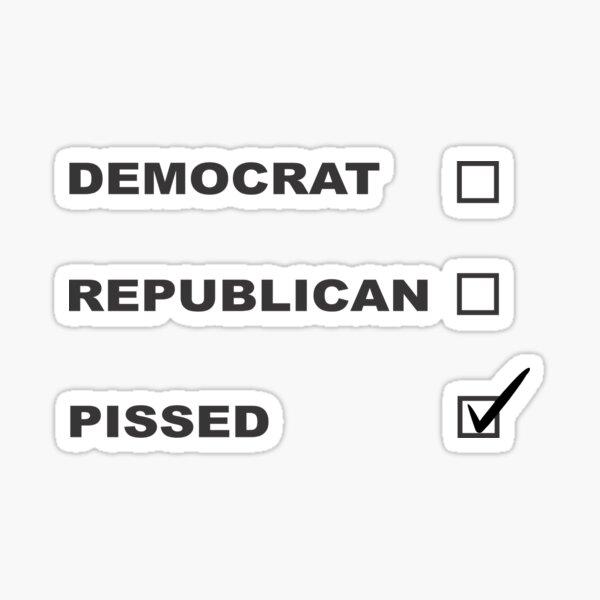 Pissed Sticker
