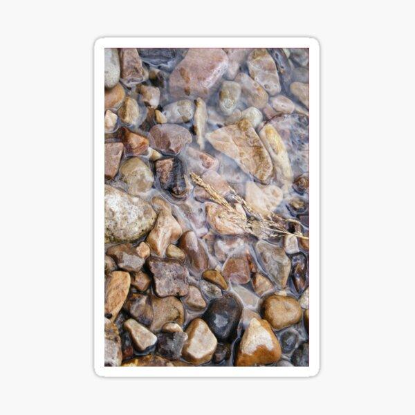 River rocks, spring stones Sticker