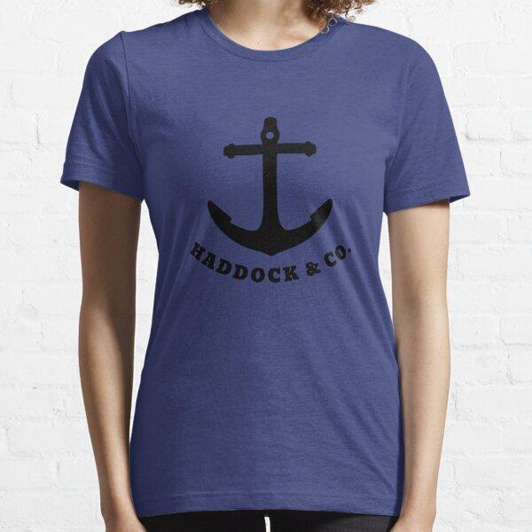 Camiseta de envío de Haddock and Co. Camiseta esencial