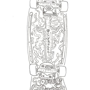 My favourite skateboard when I was 12 by joeltarling