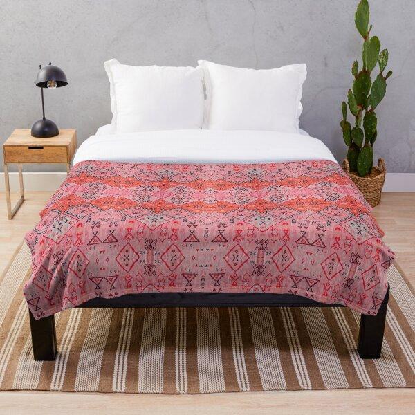 Oriental Anthropologie Heritage Bohemian Moroccan Style Throw Blanket