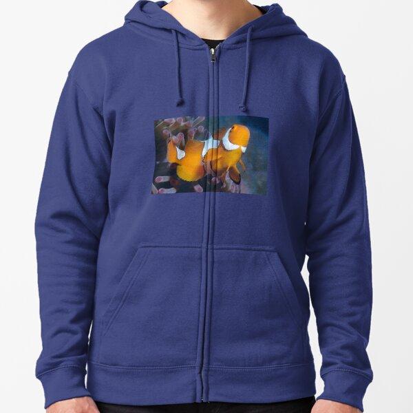 Clown Anemonefish Zipped Hoodie