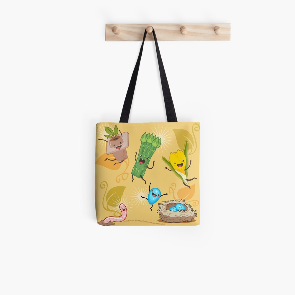 Wisconsin + Spring = Happiness Tote Bag