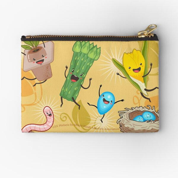 Wisconsin + Spring = Happiness Zipper Pouch