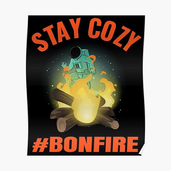 Bonfire Coin Crypto Poster