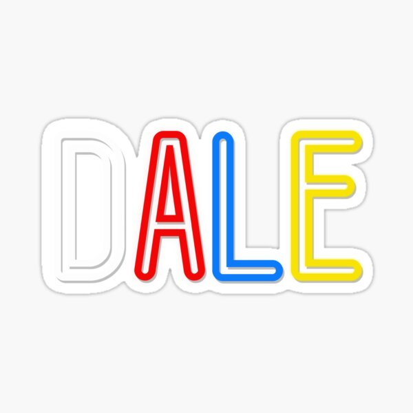 Dale - Your Personalised Products Sticker