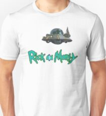 Rick and Morty spaceship T-Shirt
