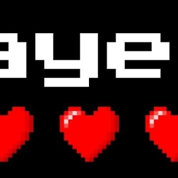 Player 1 couple's logo - Black background by rainbow321