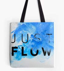 JUST FLOW BLUE Tote Bag