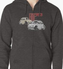 Fiat 500 personalized for Olivia Zipped Hoodie