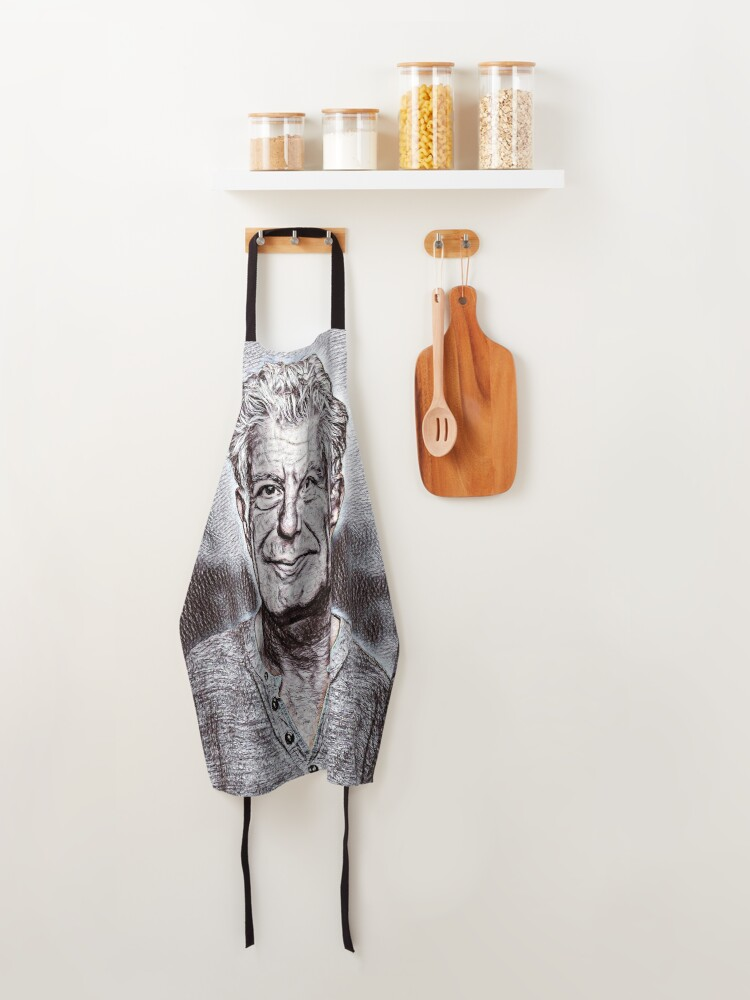Alternate view of Anthony Bourdain Drawing Apron