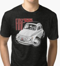 Fiat 500 personalized for Olivia Tri-blend T-Shirt