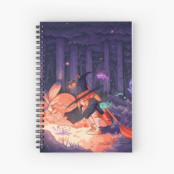 Rez Spiral Notebook