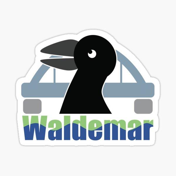 Raven Waldemar from Fürstenwalde Sticker
