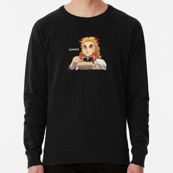 """Rengoku """"Umai!"""" Lightweight Sweatshirt"""