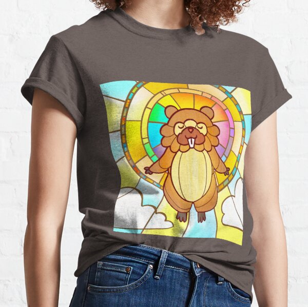 Bidoof, Our Lord and Savior Classic T-Shirt