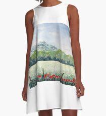 View, Lomond Hills A-Line Dress