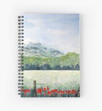 View, Lomond Hills Spiral Notebook