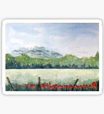 View, Lomond Hills Sticker