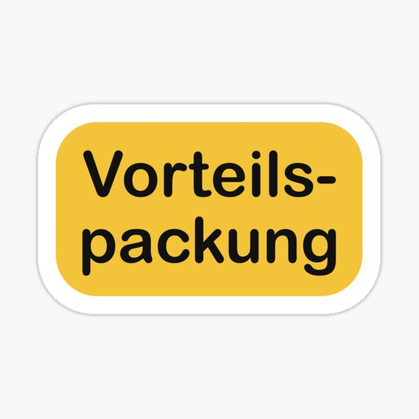 The value pack Sticker