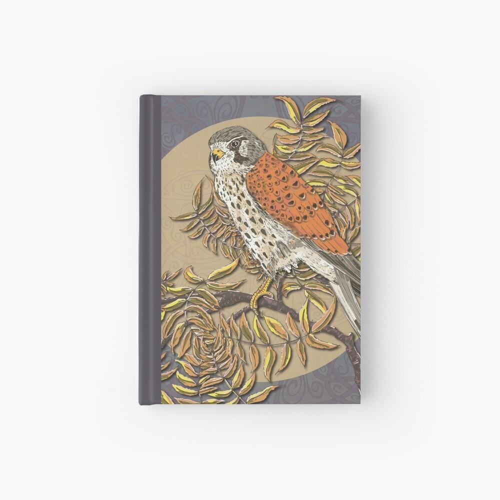 Celtic Kestrel Hardcover Journal