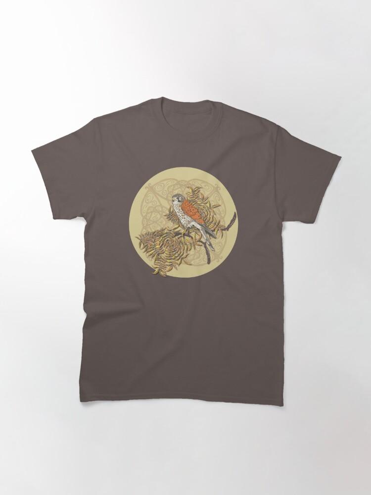 Alternate view of Celtic Kestrel Classic T-Shirt