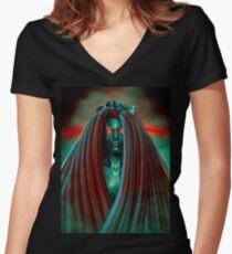 Medusa 3000 Women's Fitted V-Neck T-Shirt