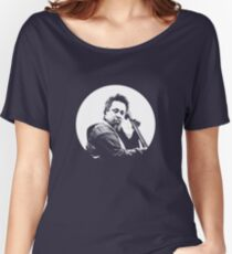 mingus portrait  (for dark background) Women's Relaxed Fit T-Shirt