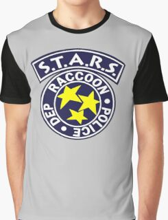 -GEEK- Raccoon Police Graphic T-Shirt
