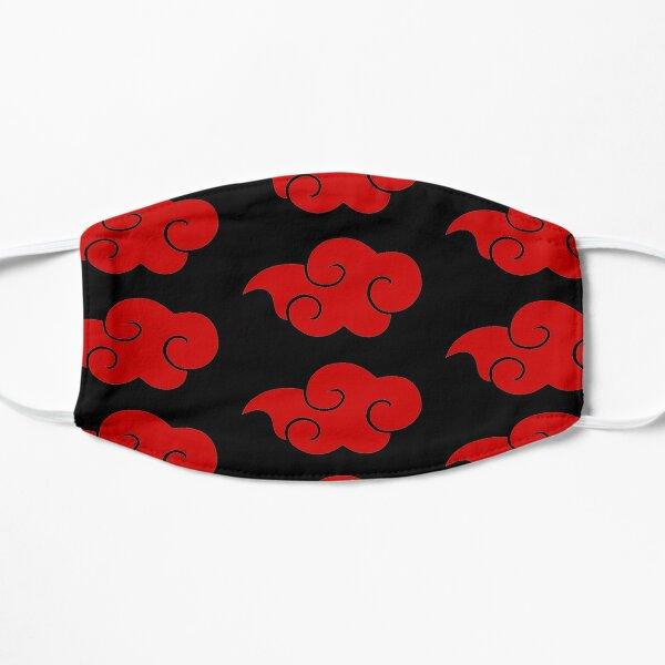 Nuages rouges Akatsuki Masque sans plis