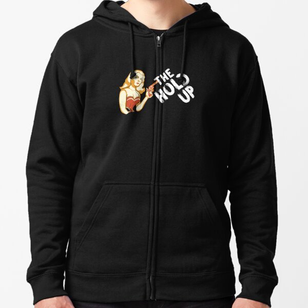 The Hold Up Gay Bar - Batwoman Zipped Hoodie