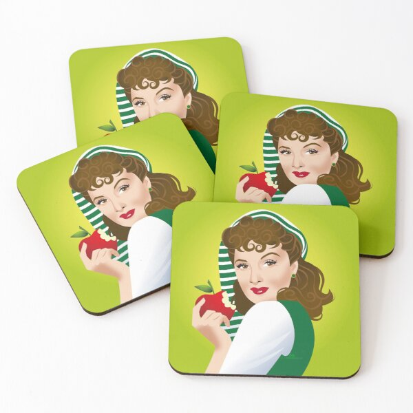 Lady  Coasters (Set of 4)
